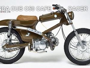 Honda Cub lên Cafe Racer – nghe thì lạ nhưng xe thì thật!
