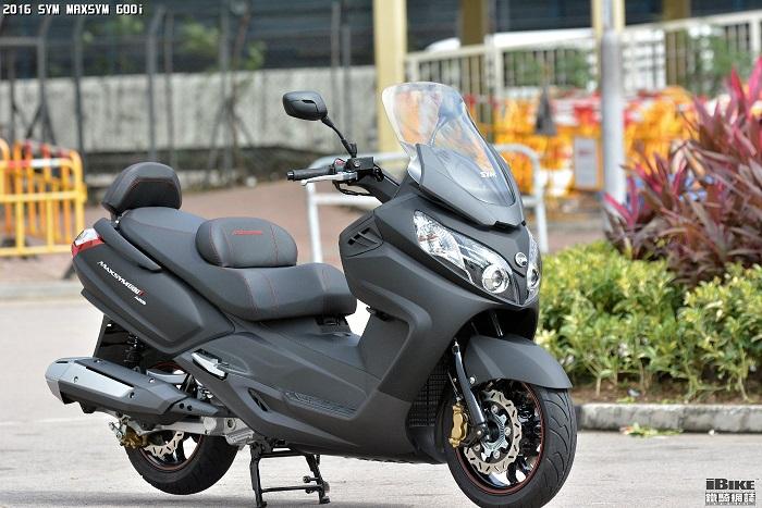 SYM Maxsym 600i ABS 2016 xuất hiện tại Indonesia