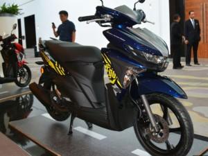 Yamaha ra mắt xe tay ga Ego Avantiz tại Malaysia