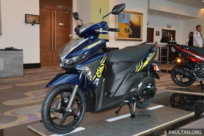 Yamaha Ego Avantiz 2016 - xe tay ga mới dành cho giới trẻ