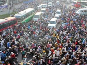 Nơi nào có xe máy nhiều nhất tại Việt Nam?