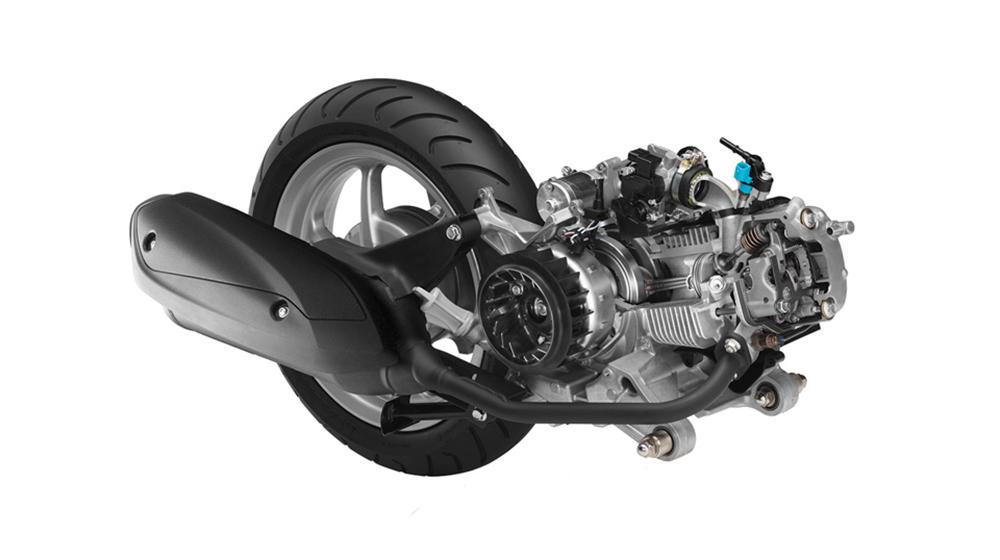 Động cơ Blue Core của Yamaha Acruzo 125cc cho khả năng tiết kiệm nhiên liệu đáng nể.