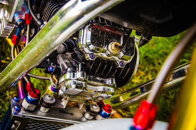 Honda MSX 125 lột xác với gói độ hàng trăm triệu đồng