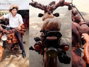 Tổng hợp xe độ bằng gỗ chứng tỏ tài năng dân Việt