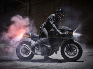 "Ducati Scrambler Icon ""Fuel Strada 800"" hóa thành caferacer cổ điển"