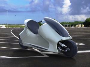 Xe máy tự cân bằng như trong phim Tron ra mắt vào 2017
