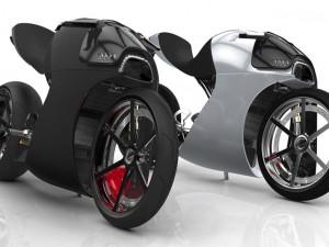 Hãng xe Audi tung mẫu concept xe máy Audi RR