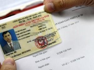 Bị tịch thu bằng lái, hàng loạt tài xế báo mất để được cấp mới