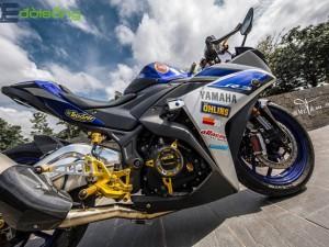 Độc lạ với dàn chân cơ bắp của chiếc xe độ Yamaha R3