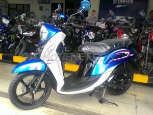 Chi tiết xe tay ga Yamaha Fino giá 31 triệu đồng tại Indonesia