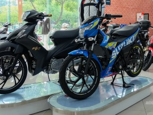 Suzuki Axelo 125RR thêm màu đen mờ cực chất tại Việt Nam