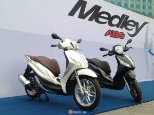 Piaggio triệu hồi hơn 3.000 chiếc Medley tại Việt Nam để nâng cấp