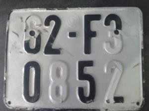 Mức phạt lên đến 1 triệu đồng dành cho xe có bảng số bị mờ