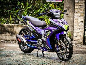 Chi tiết chiếc Exciter 150 độ khủng của biker Việt được lên báo nước ngoài