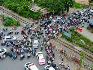 Hiến kế giao thông Hà Nội bớt tắc đường tháng cận Tết 2018