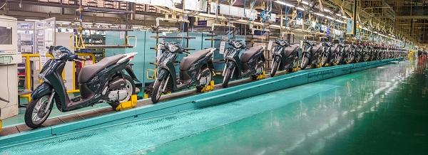 Những ông lớn tiêu thụ hơn 3,2 triệu xe máy trong năm 2017