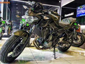Cận cảnh Kawasaki Z650 mới có giá bán 218 triệu tại Việt Nam