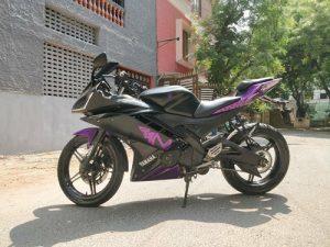 Chiếc Yamaha YZF R15 V2.0 trở nên cuốn hút hơn chỉ với vài mẹo nhỏ