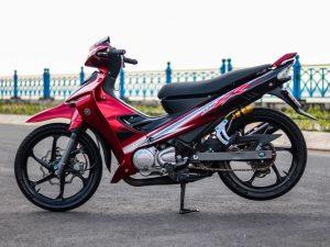 Cận cảnh Yamaha Z125 độ đồ chơi cực khủng của biker Vĩnh Long