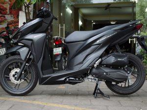 Xuất hiện Honda Vario 2018  phiên bản màu đen tại Tphcm