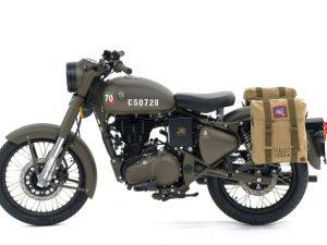 Khám phá dòng môtô Royal Enfield mang phong cách thời chiến đầy bắt mắt