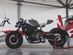 Yamaha TRX850 độ lột xác ấn tượng với phong cách đầy trần trụi