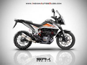 Xe môtô KTM 390 Adventure siêu chất lộ giá bán