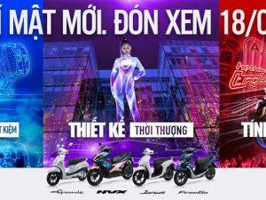 Chào đón xe tay ga Yamaha mới chuẩn bị ra mắt Việt Nam vào ngày 18/5