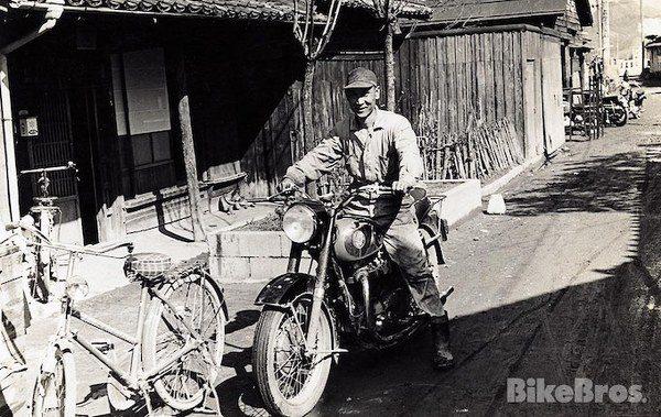 Hideo Yoshimura và chiếc Cabton 350