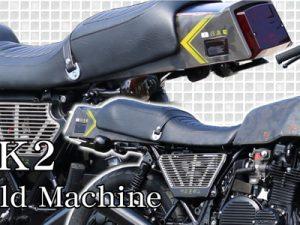 Kawasaki Z1000MKII thiết kế chế tạo đặc biệt từ phụ tùng Webike Nhật