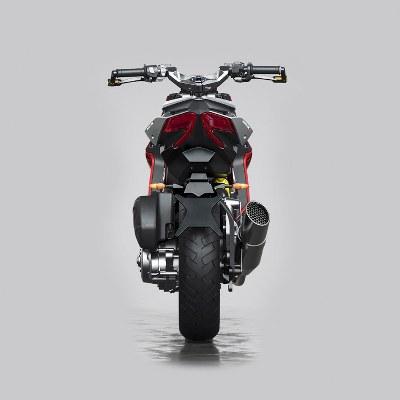 hyperscooter dragster back
