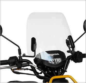 kính chắn gió xe máy từ Nhật Bản Asahi