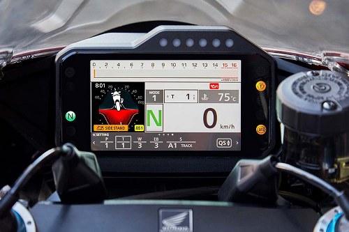 Honda CBR1000RR-R Fireblade 2020 TFT Screen