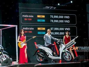 Xe SH 150i 2020 lùi ngày bán chính thức tại Việt Nam