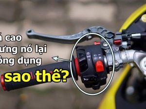 Vì sao cùm công tắc trái Domino lại trở nên thông dụng với biker?