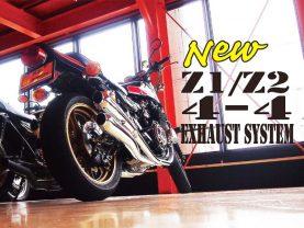 DOREMI COLLECTION ra mắt hệ thống ống xả 4 ống mới cho Z1/Z2!