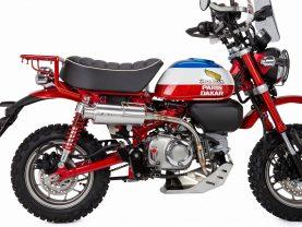 Thông số kỹ thuật bản concept Honda MONKEY 125 Paris Dakar của Dart Freak