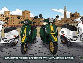 Vespa Racing Sixties – Dòng xe mới từ Piaggio Vespa tại Nhật Bản