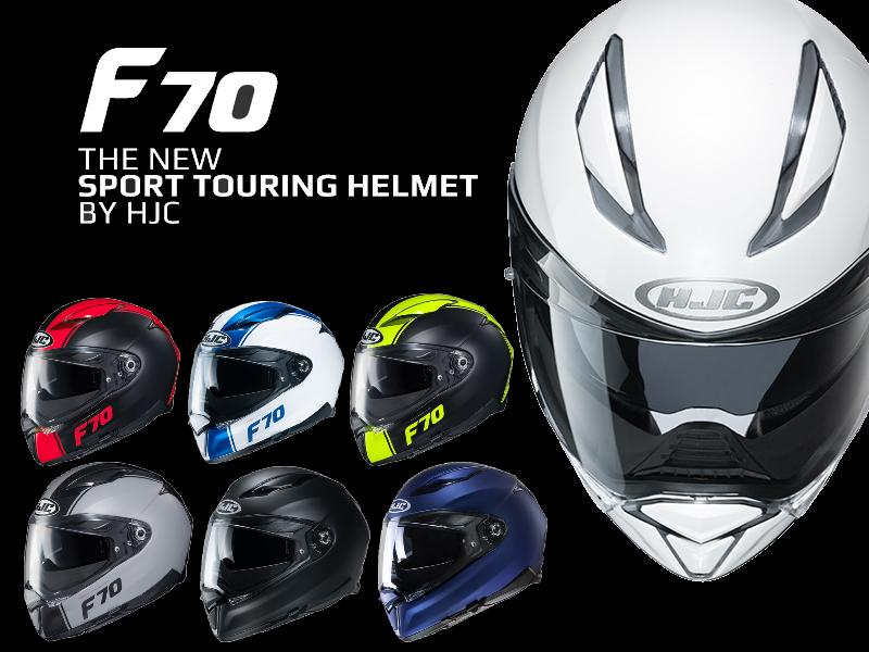 Ra mắt chiếc mũ bảo hiểm F70 của HJC thể thao cá tính