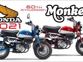 Xem trước Honda Monkey 125 2021 tại Mỹ