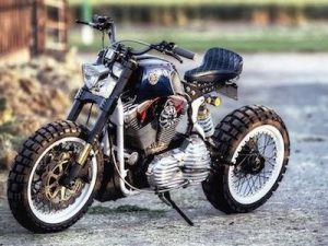 Môtô Harley-Davidson Sportster 1200 độ tracker cực khủng